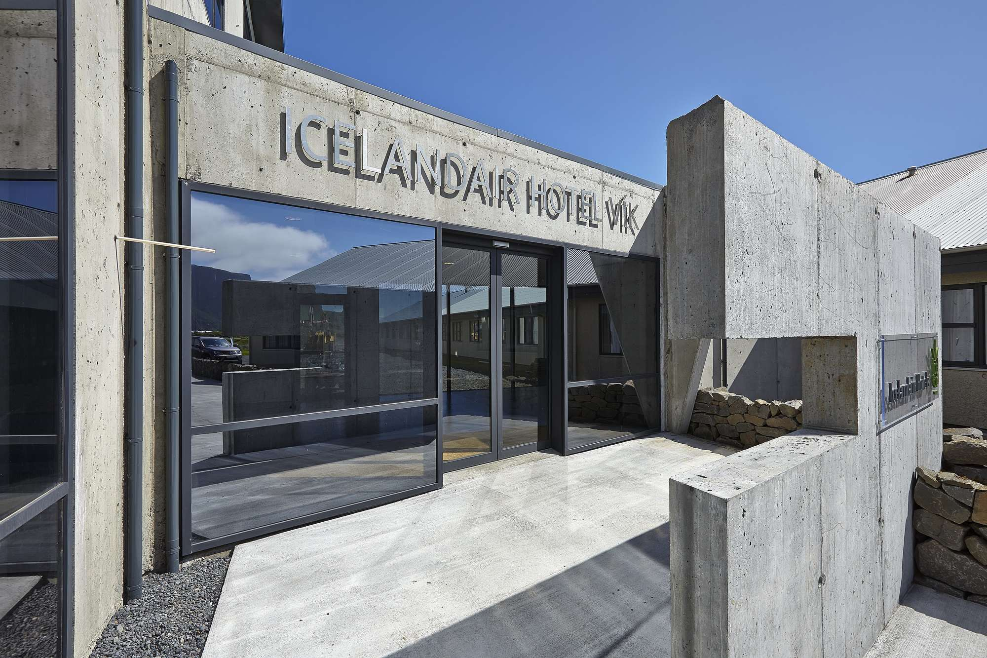 Icelandair Hotel Vik Is A Charming In Wonderful Setting The Village Of Myrdalur Valley It Nestled Under Sandstone Hills And